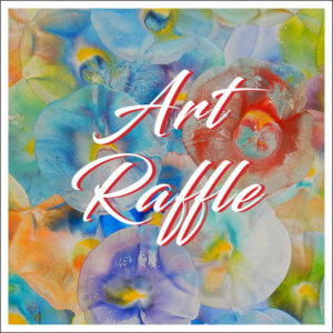"""Announcing the """"Art Makes the World Go Round"""" Raffle"""